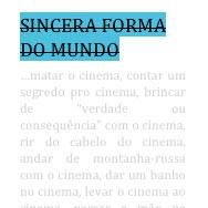 sincera_capa